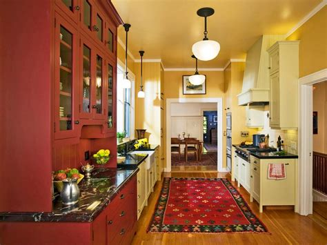 Small Galley Kitchen Designs by Best Colors To Paint A Kitchen Pictures Amp Ideas From Hgtv
