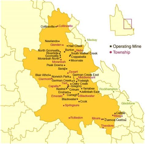 coal mines in map australia s coal exports flood affected expected to