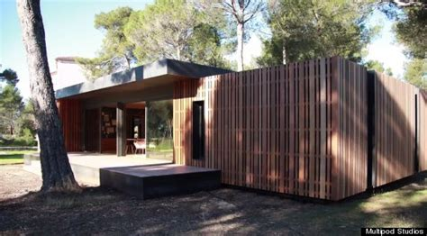 pop up house is affordable prefabulous green housing this pop up house will make ikea lovers swoon huffpost