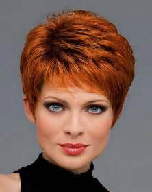 Short haircuts for women over 50 with hair accessories