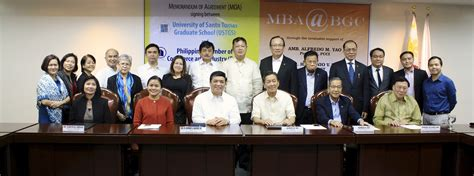 Of Santo Tomas Mba Program by Graduate School To Open Mba Program In Bgc In January 2016