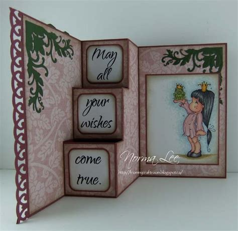 Inside Step Card Template by From My Craft Room Template For 3 Step Card 6 Quot X 6