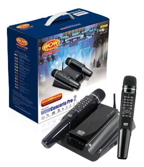 learn   wow videoke concerto pro  tkm p  wireless mics    songs