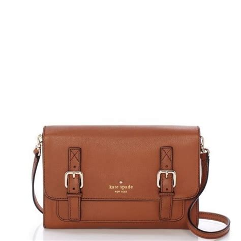 Kate Spade Camel Crossbody kate spade allen neil brown camel purse satchel bag cross nwot bags shoulder