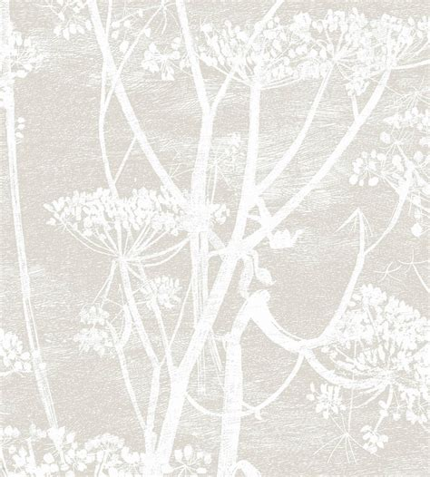 black and white wallpaper john lewis cow parsley wallpaper by cole son jane clayton