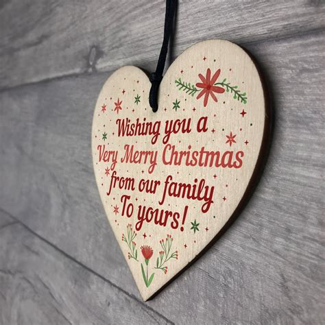 handmade wooden christmas gift  friend family neighbour gifts