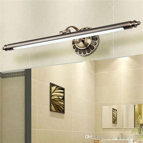 2017 new wall lights creative led wall l bedroom bedside 2017 new l50cm 70cm 90cm modern led mirror lights bronze
