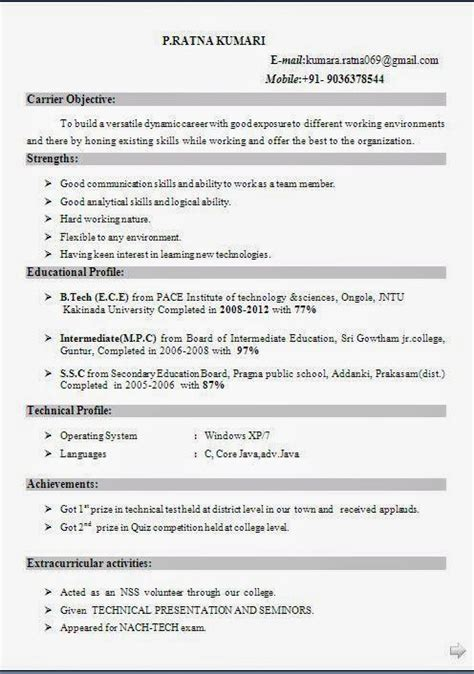 Best Resume In Pdf by Best Resume Format Pdf