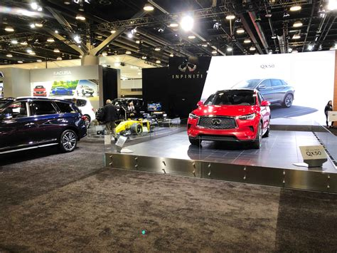Infinity Auto Vancouver by Infiniti Display At The Vancouver International Auto Show