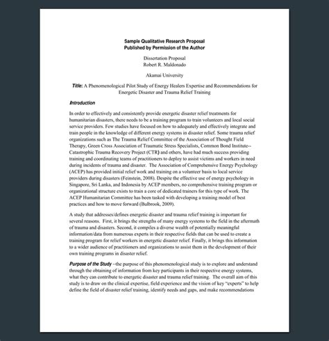 qualitative research guide template research outline template 20 formats exles and sles