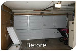 garage door wall and attic insulation ecosystems