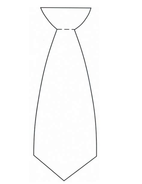 Tie Template I Used This Template For Our Nursery Father S Day Ties Printables And Templates Free Printable Tie Template