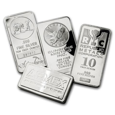 10 oz silver bars for sale 10 oz silver bar for sale at apmex buy silver bars 10 oz