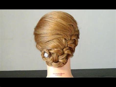 easy braided hairstyles for medium hair youtube прическа для средних волос easy braided hairstyles