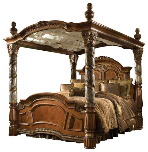 villa valencia california king size canopy poster bed victorian canopy beds by warehouse