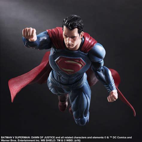 Figure Play Arts Ww Batman Vs Superman batman v superman play arts superman figure the toyark news