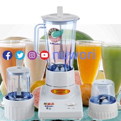 Blender Miyako Glass nuwori nusantara web your retail nuwori