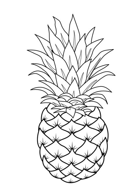 Fruits Coloring Pages Printable Color Coloring Pages