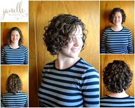 deva curl short hair devacurl haircuts janelle on location janelle on