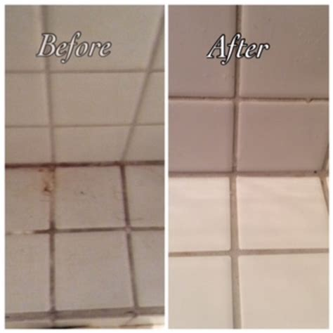 bleach to clean bathroom clean bathroom tiles without bleach home genius