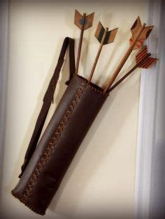pattern for making a quiver archery on pinterest quiver arrows and arm guard