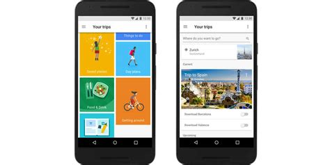 google trips        travel app