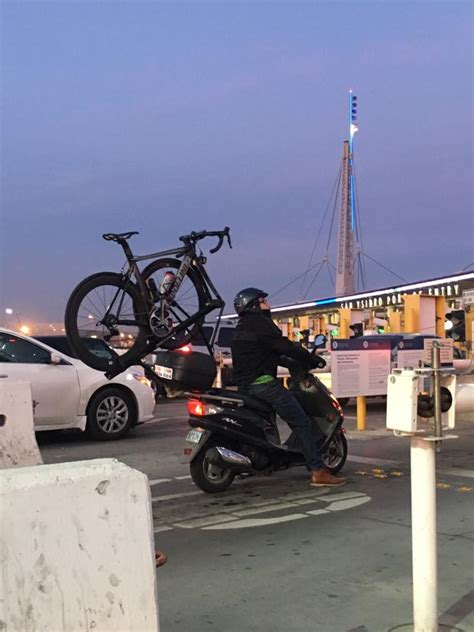 Bike Racks San Diego by Scooter W Bike Rack Seen On San Diego Fox 5