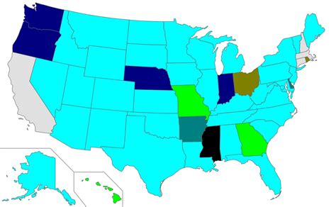 united states marriage map file us map age of marriage with parental consent svg