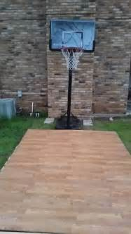 Diy Backyard Basketball Court » Home Design