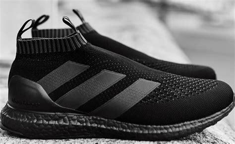 Sepatu Adidas Ultra Boost Ace16 Black Hitam adidas ace 16 purecontrol ultra boost