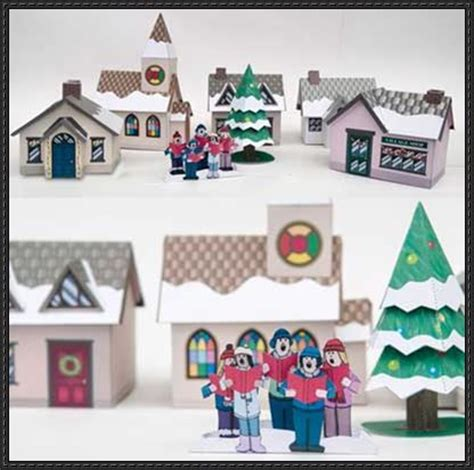 Papercraft Town - beautiful models and paper on