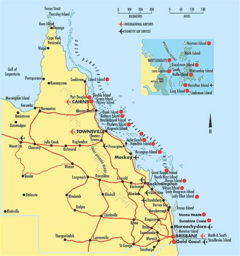 printable map hervey bay science media centre 187 blog archive queensland s coast