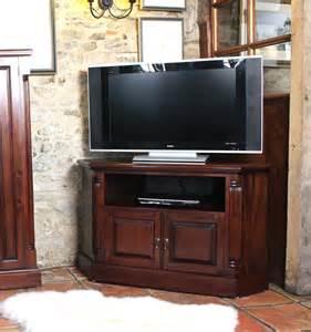 Corner Television Cabinet La Roque Mahogany Corner Television Cabinet Imr09b