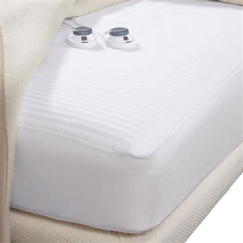 select comfort heated mattress pad reviews waterproof heated mattress pad queen white