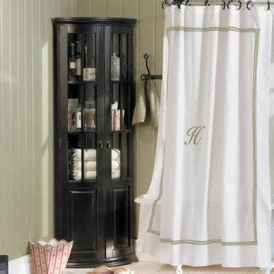 Ballard Designs Shower Curtain Monogrammed Shower Curtain Sage Stripe Ballard Designs