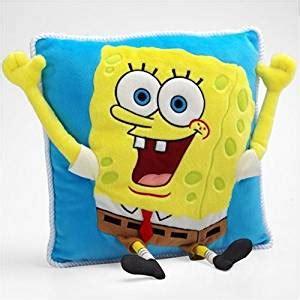 Spongebob Squarepants Pillow by Spongebob Squarepants Squarepants Plush Pillow