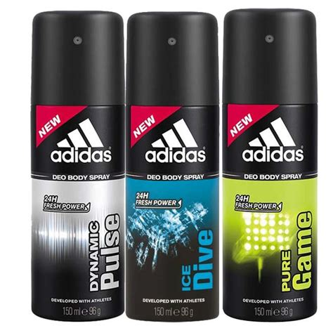 adidas deodorants for men combo pack of 4 assorted adidas deodorants for men combo pack of 4 assorted