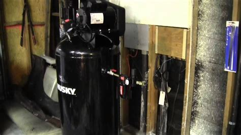 husky 60 gallon air compressor