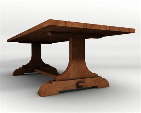 Trestle Table Plans by 25 Best Ideas About Trestle Tables On Legs
