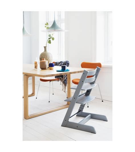 Tripp Trapp High Chair by Stokke Tripp Trapp High Chair Grey