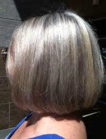 pictures of grey hair with highlights foils full head highlights hair color hair salon