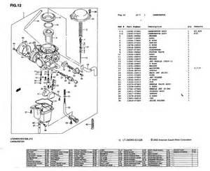 diagram for suzuki eiger 400 parts diagram suzuki free wiring diagrams