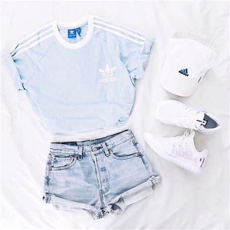 light pink adidas shirt light blue t shirt jeans adidas hat and white shoes ho l