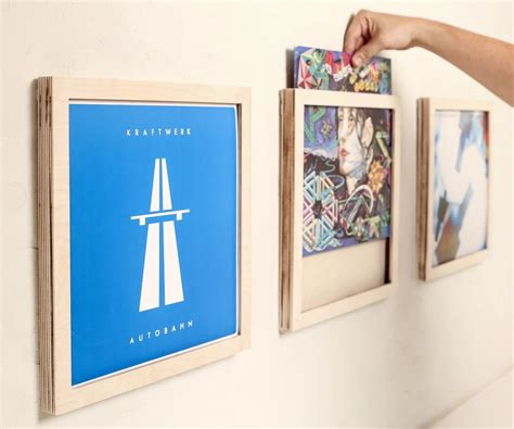 12 Vinyl Record Frames by Beta Project Vinyl Record Frames Made On A Glowforge