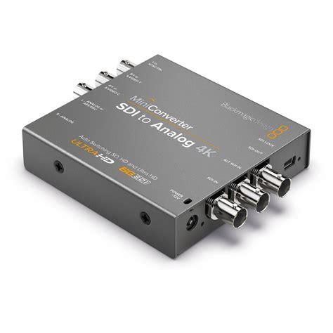 Blackmagic Format Converter | blackmagic design mini converter sdi to analog 4k