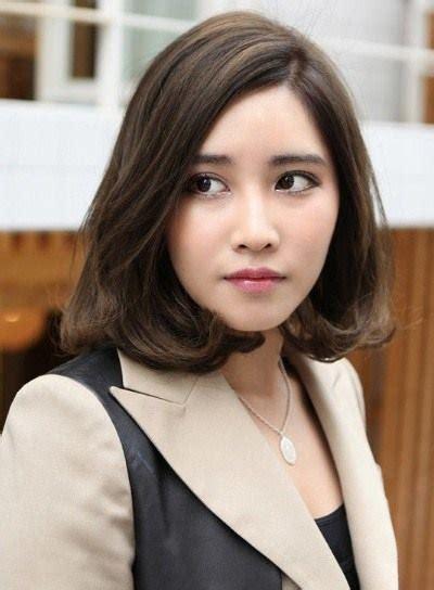 model rambut  wanita wajah oval cahunitcom