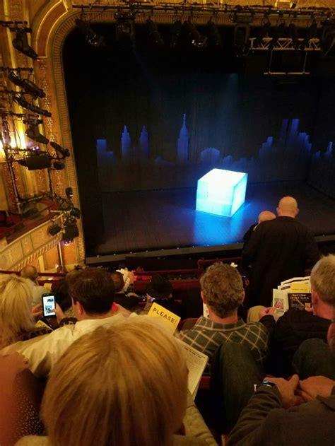 walter kerr theatre interactive seating chart