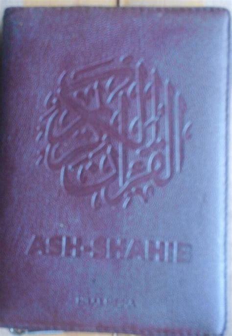 Mushaf Ustmani Ash Shahib A5 al qur an terjemah ash shahib ukuran a6