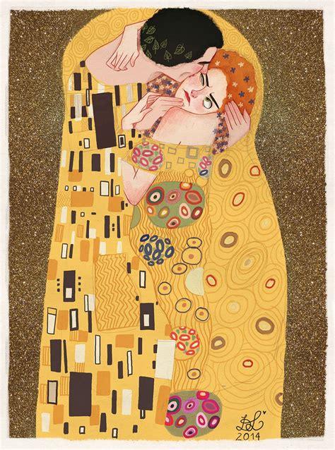 Klimt Der Kuss Interpretation by Dixie Leota S Interpretation Of Gustav Klimt S Painting