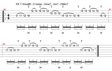 tutorial guitar tapping two handed tapping guitar lessons ultimate guitar com